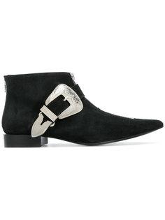 ботинки с ремешками и заостренным носком Toga Pulla