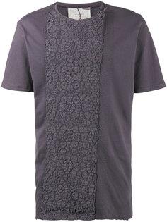 футболка с цветочной вышивкой By Walid