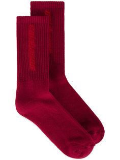 носки вязки интарсия Calabasas Yeezy