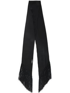 узкий шарф с бахромой  Rockins