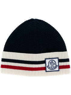 шапка-бини в полоску Moncler Gamme Bleu