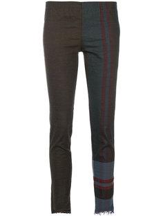 укороченные брюки Philip Uma Wang