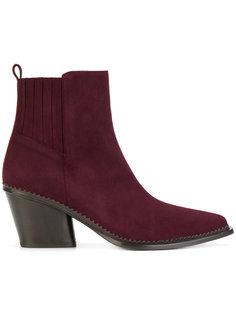 ботинки на каблуке в стиле вестерн Sartore