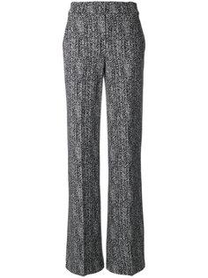 широкие фактурные брюки Theory