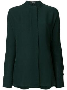 блузка с круглым вырезом  Theory