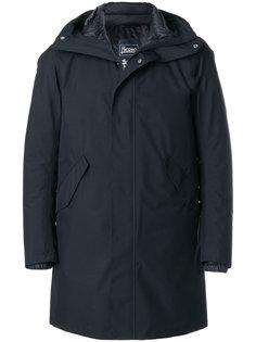 пальто с потайной застежкой-молнией Herno