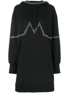 декорированное платье джерси MSGM