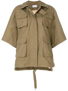 куртка карго с нашивкой сзади Red Valentino