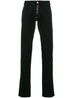 джинсы прямого кроя Philipp Plein