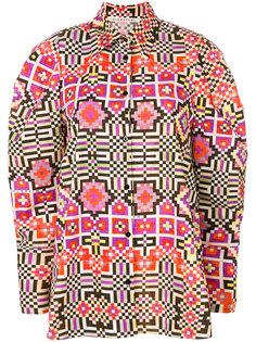рубашка с принтом  Miahatami