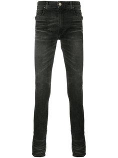 удлиненные джинсы скинни  Amiri