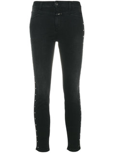 джинсы скинни с декоративной строчкой  Closed