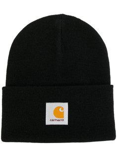 шапка с бляшкой с логотипом Carhartt