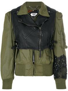 куртка с контрастной панелью Pihakapi