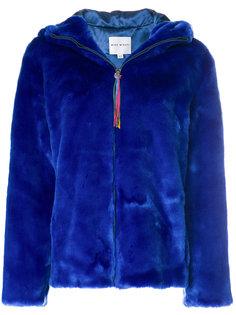 куртка из искусственного меха с капюшоном  Mira Mikati