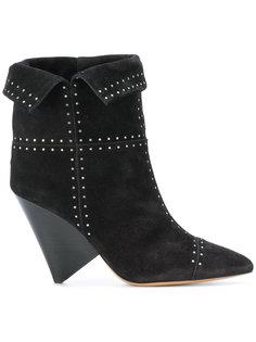 ботинки Lyzinn с заклепками Isabel Marant