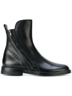 ботинки-челси на молнии Ann Demeulemeester