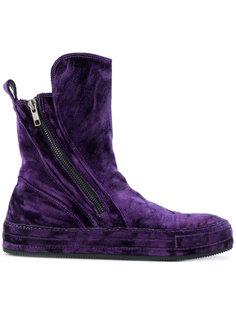 бархатные ботинки Ann Demeulemeester