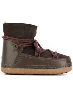 зимние ботинки на шнуровке Inuiki