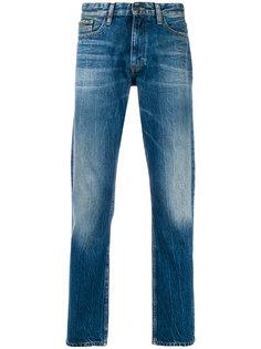 джинсы кроя слим с потертой отделкой Calvin Klein Jeans