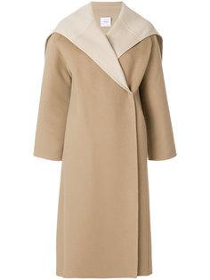 пальто с воротником-кейп Agnona