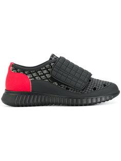 кроссовки на липучке Antonio Marras