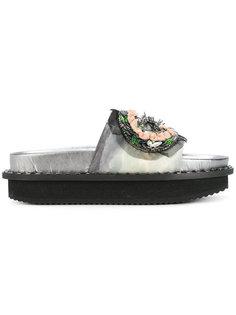 декорированные сандалии Antonio Marras