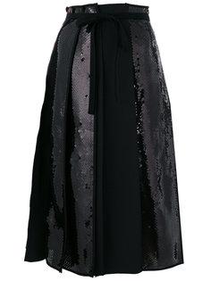 юбка с панелями в пайетках Ter Et Bantine