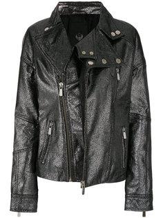 байкерская куртка на молнии Frankie Morello