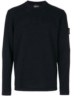 свитер вафельной вязки Stone Island Shadow Project
