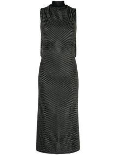 трикотажное платье с высокой горловиной Roland Mouret