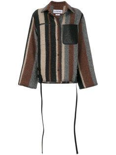 А-образная куртка в полоску  Loewe