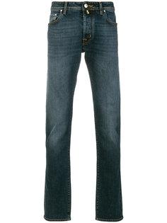 джинсы узкого кроя с выцветшим эффектом Jacob Cohen