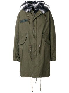 пальто на молнии с меховой оторочкой As65