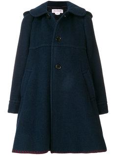 расклешенное пальто на пуговицах  Comme Des Garçons Girl