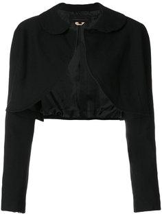 укороченная приталенная куртка  Comme Des Garçons Girl