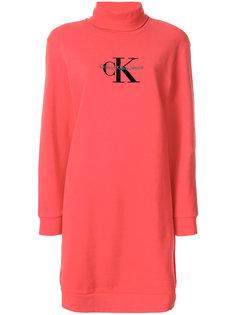 платье-свитер с логотипом  Calvin Klein Jeans
