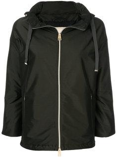 пальто на молнии с капюшоном  Herno