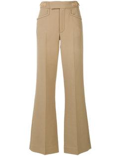 расклешенные брюки со складками  Marc Jacobs