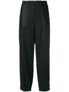 pinstripe cropped trousers Aalto