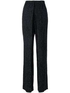 брюки в полоску с высокой талией Aalto