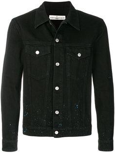декорированная джинсовая куртка Golden Goose Deluxe Brand