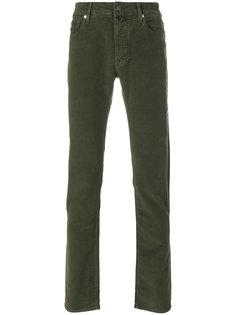 брюки с бархатистым эффектом Jacob Cohen