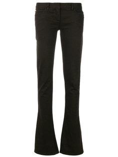джинсы клеш с заниженной талией  Balmain