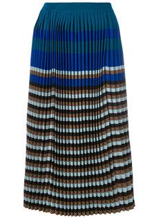 плиссированная юбка миди Marni