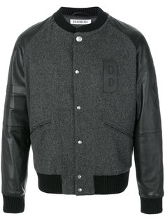 куртка с аппликацией логотипа Dirk Bikkembergs