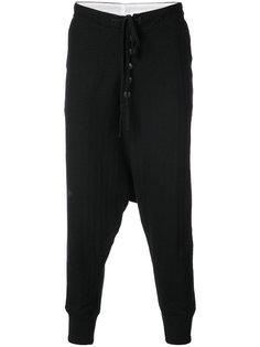 брюки свободного кроя Greg Lauren