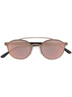 солнцезащитные очки в круглой оправе Giorgio Armani