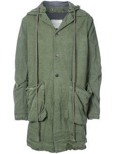 легкая куртка с потертой отделкой Greg Lauren