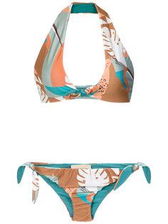 Tropiques halterneck bikini set Adriana Degreas